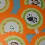 Set of 12 Jungle/Safari The..