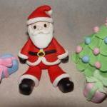 Fondant Reindeer or Santa C..