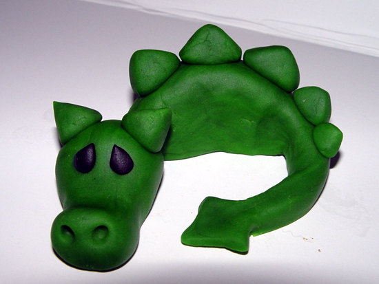 Fondant Dragon Cake Topper